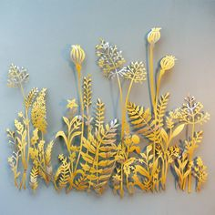 Gill Gutherie. Botanical papercut