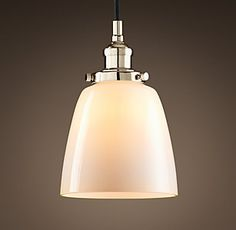 $92USD - for lounge lighting? 20Th C. Factory Filament Cloche | RH