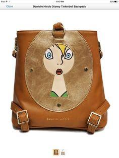 Danielle Nicole Tinker bell Backpack Brand New
