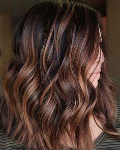 Love this balayage brown hair #balayage #haircolor