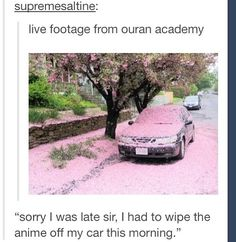 Ouran High School Host club oh my god this is exactly how it is