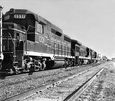 Seaboard Coast Line EMD Diesel Locomotives.
