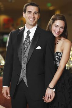 A classic black tux with a modern fit. The Black Troy tuxedo is tailored in worsted wool, featuring clean lines and a sleek notched lapel in premium. Prom Tuxedo, Tuxedo Dress, Tuxedo Suit, Beach Wedding Attire, Wedding Gowns, Shawl Collar Tuxedo, Black Tux, Groom And Groomsmen, Formal Wear
