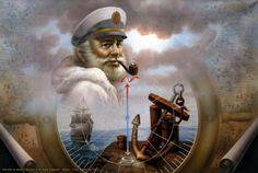NEWS Map Captain 7 or Sea Captain - Yoo Choong Yeul