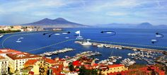 Naples, site of next AC World Series Apr. 16-21, 2013. America's Cup World Series leader ORACLE TEAM USA, second-placed Luna Rossa Piranha, third-placed Artemis Racing White, J.P. Morgan BAR, Energy Team, Emirates Team New Zealand, Luna Rossa Swordfish and China Team all will compete.
