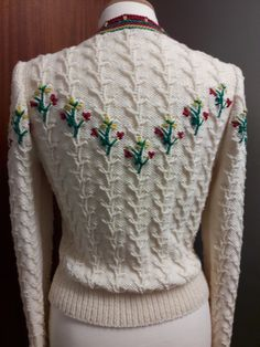 120ea5de79f93b Ravelry  Tyrolean Cardigan by Anni Howard How To Start Knitting