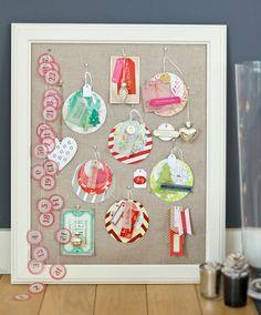 Ornament Frame by Stephanie Dagan via Crate