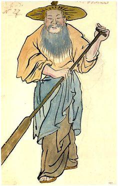 Set design by Alexandre Benois for Le Rossignol, 1914
