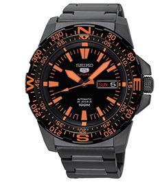 Seiko Herren-Armbanduhr Analog Automatik Edelstahl beschichtet SRP547K1 - http://uhr.haus/seiko/seiko-herren-armbanduhr-analog-automatik-5