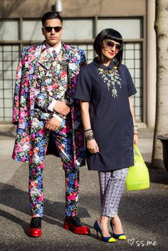 Spring florals and mixed prints