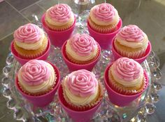 little girl birthday party ideas - Bing Images Book Birthday Parties, Prince Birthday Party, Birthday Ideas, Tea Parties, Cupcake Party, Birthday Cupcakes, Cupcake Cakes, Cup Cakes, Beautiful Cupcakes