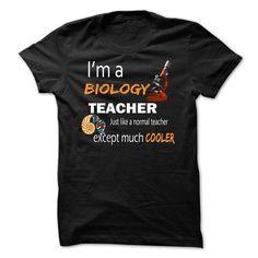 Biology Education Teacher Cooler  - #vintage sweatshirt #sweater for fall. SATISFACTION GUARANTEED => https://www.sunfrog.com/LifeStyle/Biology-Education-Teacher-Cooler-.html?68278