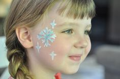 Face Paint - Snowflake Step 5 - Suburble.com-1