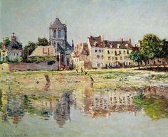 Le Bord de l'eau à Vernon (C Monet - W 844),1883.