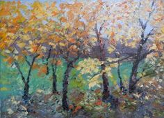Autumn coloured
