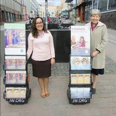 Public Witnessing in Finland. Pic by @lari_kananen