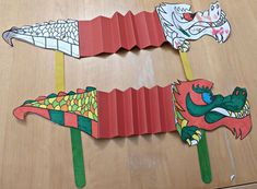 Check out this cool Printable Chinese Dragon Puppet