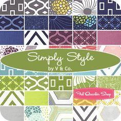 need to get yardage of current range - simply colour !!  Simply Style Yardage V & Co. for Moda Fabrics
