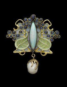 René Lalique Art Nouveau brooch