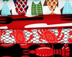 crab fabric for sale - Google Search