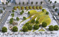 Imagem 4 de 28 da galeria de Brooks + Scarpa revelam sua proposta para novo parque no centro de Los Angeles. Fotografia de Brooks + Scarpa