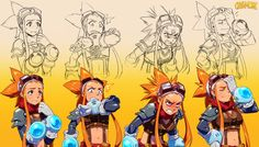 The Girl Of Many Faces by Robaato on deviantART