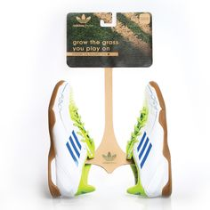 Adidas Sustainable Packaging by Tia Hughes, via Behance