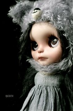 Ooak Custom Blythe Art Doll by aline8