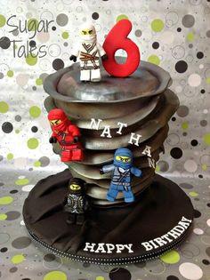 Lego Ninjago Cake by SugarTales