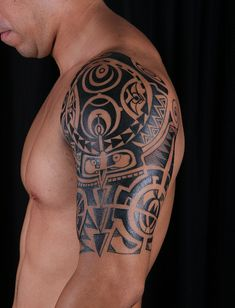 polynesian tattoo by miamitattooshop, via Flickr