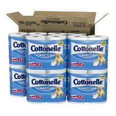 Cottonelle Clean Care Double Roll Toilet Paper (32 rolls)  Order at http://www.amazon.com/Cottonelle-Clean-Double-Toilet-Paper/dp/B008YD82S2/ref=zg_bs_15342811_23?tag=bestmacros-20