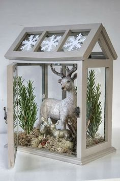 Christmas Winter Decor White :: remppahaikara blog