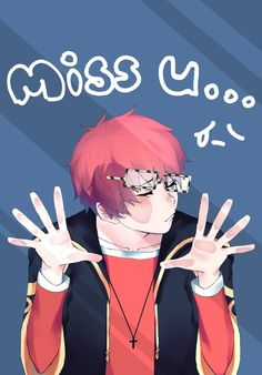 Mystic Messenger- Seven (Choi Saeyoung /Luciel)(707) #Otome #Game #Anime. Susanghan Messenger