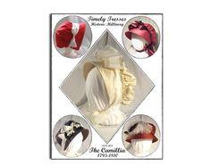 Hatten min øverst til høyre :) Timely Tresses Jane Austen/Regency Style by regencyaustentation, $13.00