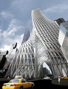 """In Manhattan entsteht der erste Design-Wolkenkratzer mit """"Lunge"""""""