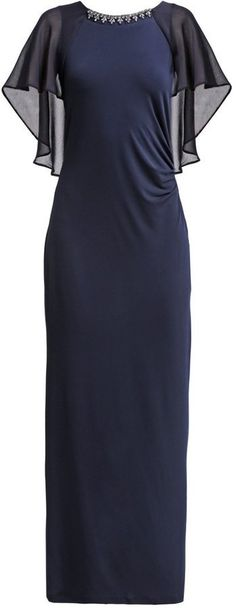 Pin for Later: 50 elegante, bodenlange Abendkleider unter 100 €  Wallis Maxikleid in navy (70 €)