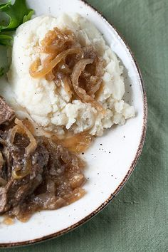 A Simple Plan: Mom's Pot Roast with Beer and Onions - Crumb: A Food Blog
