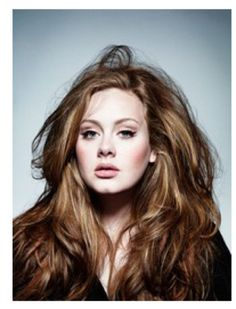 Adele. She just oozes of sophistication, with a side of swearing and a dash of dont-fuck-with-me on top. Love her!