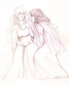 Little Birds (Sansa Stark and her best friend Jeyne Poole)