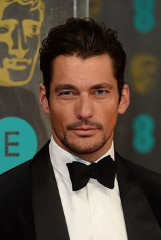 "Twitter / MyDailyUK: David Gandy does his best ""blue  steel"" face #EEBAFTAs  