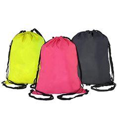 MP 013 String Bag [MP 13] Size: 45cm(L) x 33cm(H) Material: Nylon Colour: Lime Green, Magenta, Black