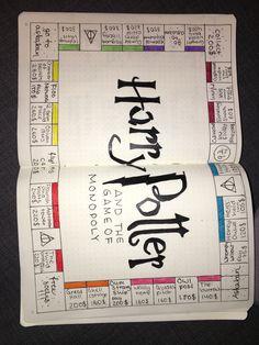 Bullet Journal Harry Potter