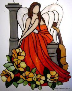 Anioł muzyki, zadumy i refleksji Angel of music, meditation and reflection