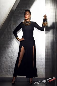LaLa Anthony Dark Room outtake