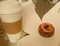 Morello cherry cronut :) #cronut #dominqueansel #nyc #foodies