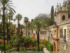 Seville, Spain is beautiful.