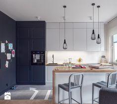 Średnia kuchnia, styl skandynawski - zdjęcie od studio POTORSKA