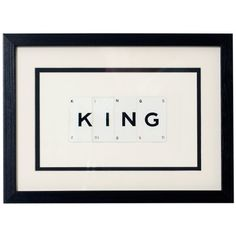 KING Vintage Playing Cards Frame £39.00 - The Wedding Gift Company