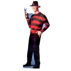 Advanced Graphics Freddy Krueger Life-Size Cardboard Stand-Up - 117