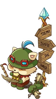 stop feeding yourself teemo!